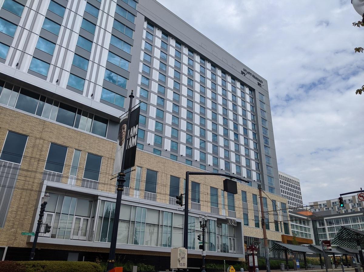 Sparkling New Hotel